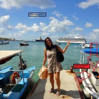 Barcos usados nos passeios (Foto: reprodução do blog Didi Viajante)