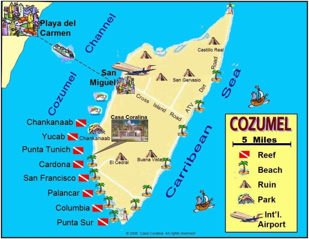 map-of-mexico-cancun-and-cozumel-10-maps-update-501652-for